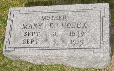 HOUCK, MARY E. - Clinton County, Iowa | MARY E. HOUCK