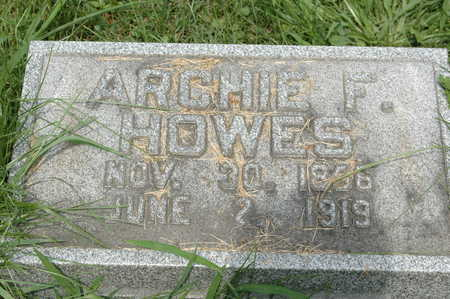 HOWES, ARCHIBALD F. - Clinton County, Iowa | ARCHIBALD F. HOWES