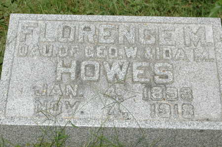 HOWES, FLORENCE M. - Clinton County, Iowa | FLORENCE M. HOWES