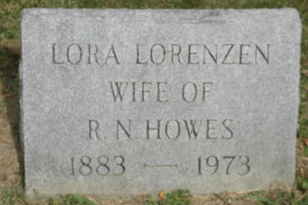 LORENZEN HOWES, LORA - Clinton County, Iowa | LORA LORENZEN HOWES