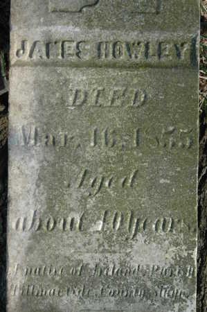 HOWLEY, JAMES - Clinton County, Iowa   JAMES HOWLEY