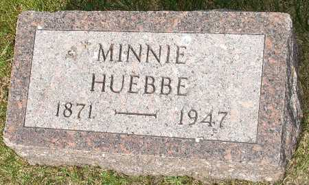 HUEBBE, MINNIE - Clinton County, Iowa | MINNIE HUEBBE
