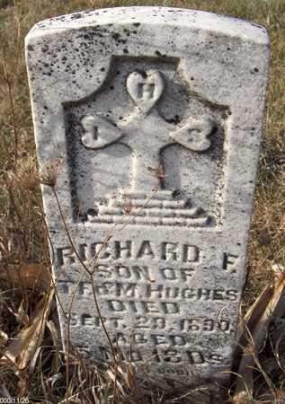 HUGHES, RICHARD F. - Clinton County, Iowa | RICHARD F. HUGHES