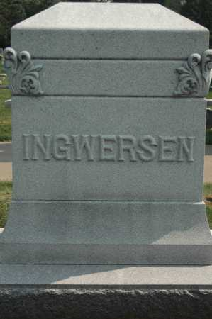 INGWERSEN, FAMILY MONUMENT - Clinton County, Iowa | FAMILY MONUMENT INGWERSEN