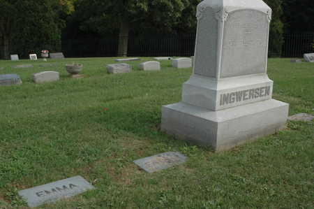 INGWERSEN, MONUMENTS - Clinton County, Iowa | MONUMENTS INGWERSEN