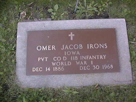 IRONS, OMER JACOB - Clinton County, Iowa | OMER JACOB IRONS