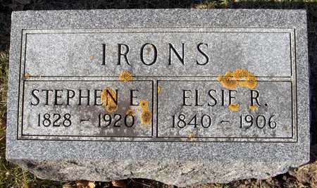 IRONS, ELSIE R. - Clinton County, Iowa | ELSIE R. IRONS