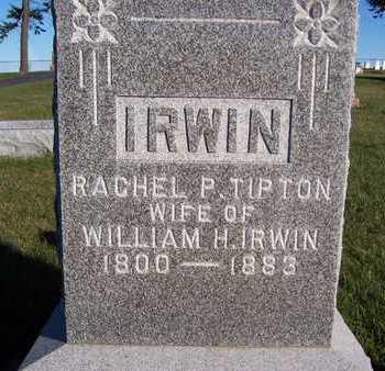 TIPTON IRWIN, RACHEL P. - Clinton County, Iowa | RACHEL P. TIPTON IRWIN