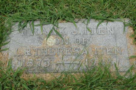 ITEN, FRANK J. - Clinton County, Iowa | FRANK J. ITEN