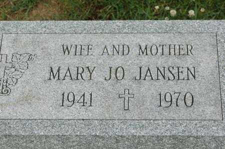 JANSEN, MARY JO - Clinton County, Iowa | MARY JO JANSEN