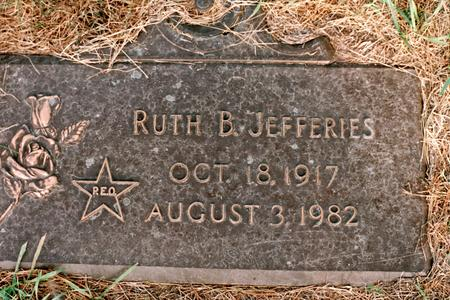 JEFFERIES, RUTH CATHERINE