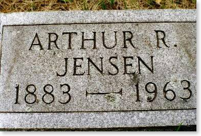 JENSEN, ARTHUR R. - Clinton County, Iowa | ARTHUR R. JENSEN