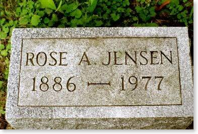 JENSEN, ROSE A. - Clinton County, Iowa | ROSE A. JENSEN