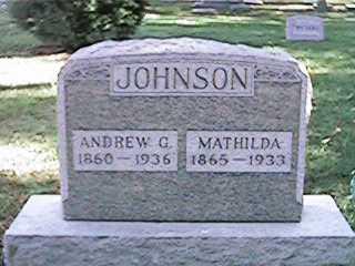 JOHNSON, ANDREW G - Clinton County, Iowa | ANDREW G JOHNSON