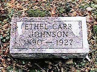 CARR JOHNSON, ETHEL - Clinton County, Iowa | ETHEL CARR JOHNSON