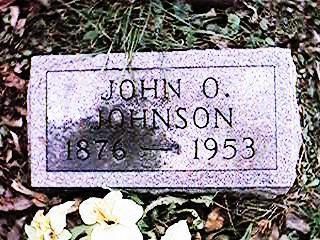 JOHNSON, JOHN O. - Clinton County, Iowa   JOHN O. JOHNSON