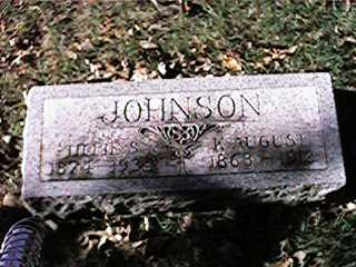 JOHNSON, K. AUGUST - Clinton County, Iowa | K. AUGUST JOHNSON