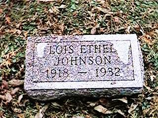 JOHNSON, LOIS ETHEL - Clinton County, Iowa | LOIS ETHEL JOHNSON