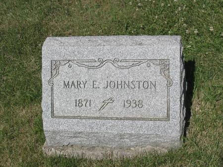 JOHNSTON, MARY - Clinton County, Iowa | MARY JOHNSTON