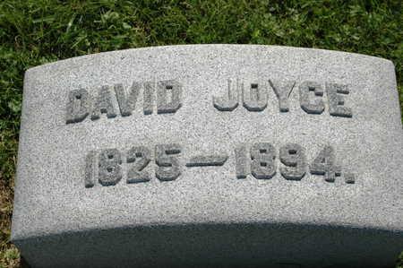 JOYCE, DAVID - Clinton County, Iowa | DAVID JOYCE