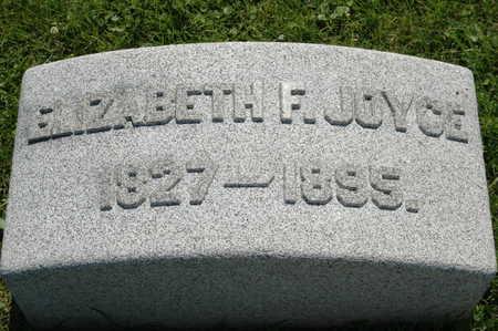 THOMAS JOYCE, ELIZABETH F. - Clinton County, Iowa | ELIZABETH F. THOMAS JOYCE