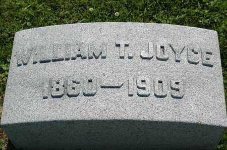 JOYCE, WILLIAM THOMAS - Clinton County, Iowa   WILLIAM THOMAS JOYCE