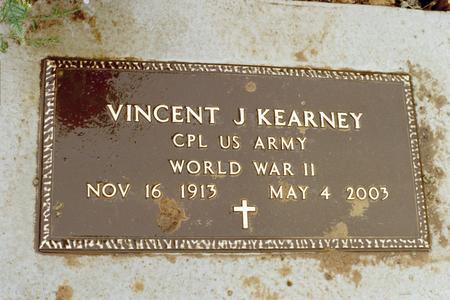 KEARNEY, VINCENT JOSEPH - Clinton County, Iowa | VINCENT JOSEPH KEARNEY