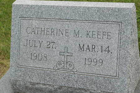KEEFE, CATHERINE M. - Clinton County, Iowa | CATHERINE M. KEEFE