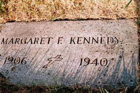 KENNEDY, MARGARET F. - Clinton County, Iowa | MARGARET F. KENNEDY