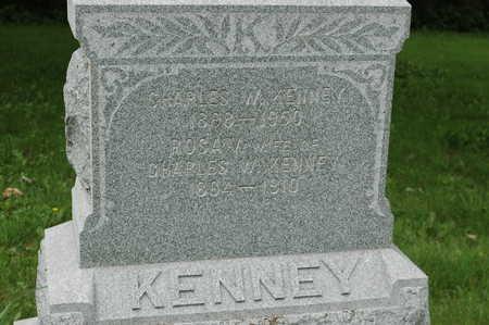 KENNEY, CHARLES W. - Clinton County, Iowa | CHARLES W. KENNEY