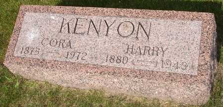 KENYON, CORA - Clinton County, Iowa | CORA KENYON