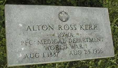 KERR, ALTON ROSS - Clinton County, Iowa | ALTON ROSS KERR