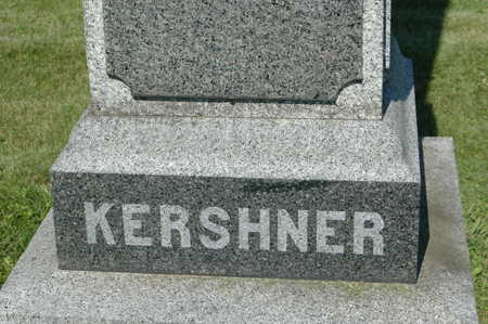KERSHNER, MONUMENT - Clinton County, Iowa | MONUMENT KERSHNER