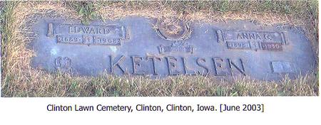 KETELSEN, EDWARD - Clinton County, Iowa | EDWARD KETELSEN