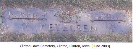 KETELSEN, MARY - Clinton County, Iowa | MARY KETELSEN