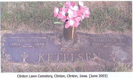 KETELSEN, FLORENCE J. - Clinton County, Iowa | FLORENCE J. KETELSEN