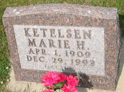 KETELSEN, MARIE H. - Clinton County, Iowa | MARIE H. KETELSEN