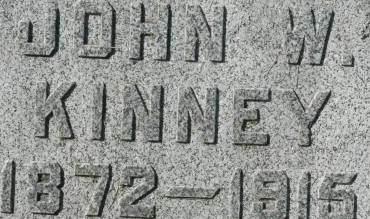 KINNEY, JOHN W. - Clinton County, Iowa | JOHN W. KINNEY