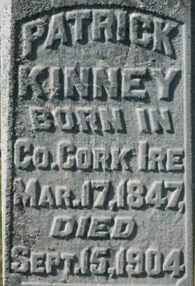 KINNEY, PATRICK - Clinton County, Iowa | PATRICK KINNEY
