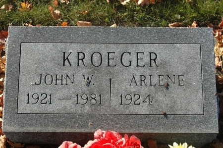 KROEGER, JOHN W. - Clinton County, Iowa | JOHN W. KROEGER