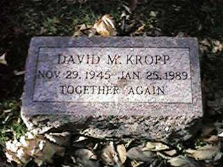 KROPP, DAVID M - Clinton County, Iowa   DAVID M KROPP