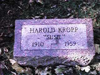 KROPP, HAROLD - Clinton County, Iowa | HAROLD KROPP