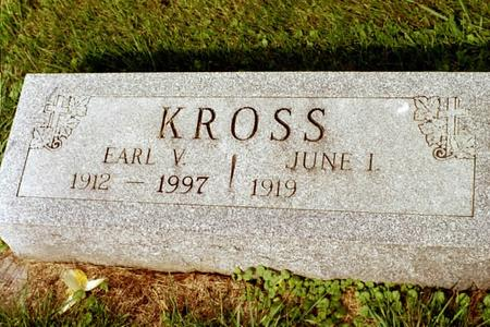 KROSS, EARL VINCENT - Clinton County, Iowa | EARL VINCENT KROSS