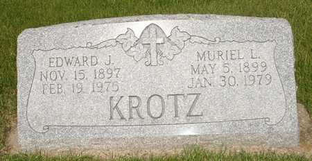 KROTZ, EDWARD J. - Clinton County, Iowa | EDWARD J. KROTZ