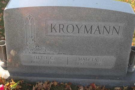 KROYMANN, MALETA H. - Clinton County, Iowa | MALETA H. KROYMANN