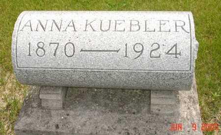 KUEBLER, ANNA - Clinton County, Iowa | ANNA KUEBLER