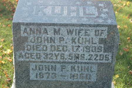 KUHL, JOHN P. - Clinton County, Iowa | JOHN P. KUHL