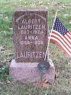 LAURITZEN, ALBERT - Clinton County, Iowa | ALBERT LAURITZEN