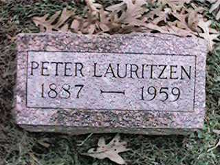 LAURITZEN, PETER - Clinton County, Iowa | PETER LAURITZEN
