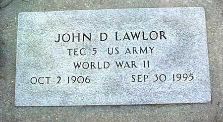LAWLOR, JOHN D. - Clinton County, Iowa | JOHN D. LAWLOR